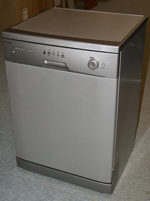 60 cm exquisit gsp 9013e stand sp lmaschine freistehend unterbauf hig alu. Black Bedroom Furniture Sets. Home Design Ideas