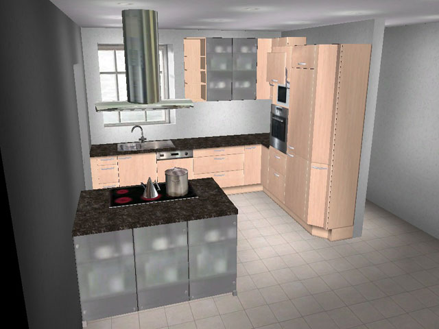 alno l k che insel birke viele ausz ge orig insolvenz verkauf augsb ebay. Black Bedroom Furniture Sets. Home Design Ideas