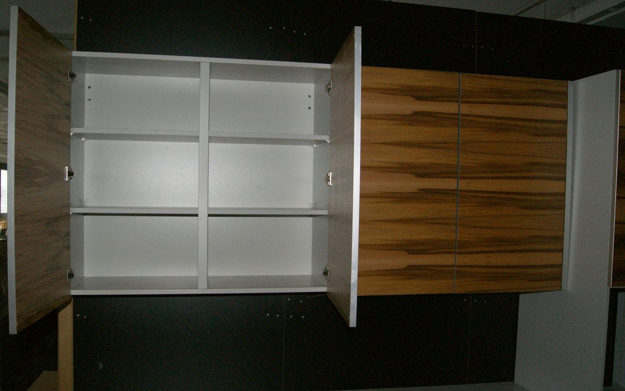 oster k che mit insel echtholzfurnier gelb musterk che variabel module muster ebay. Black Bedroom Furniture Sets. Home Design Ideas
