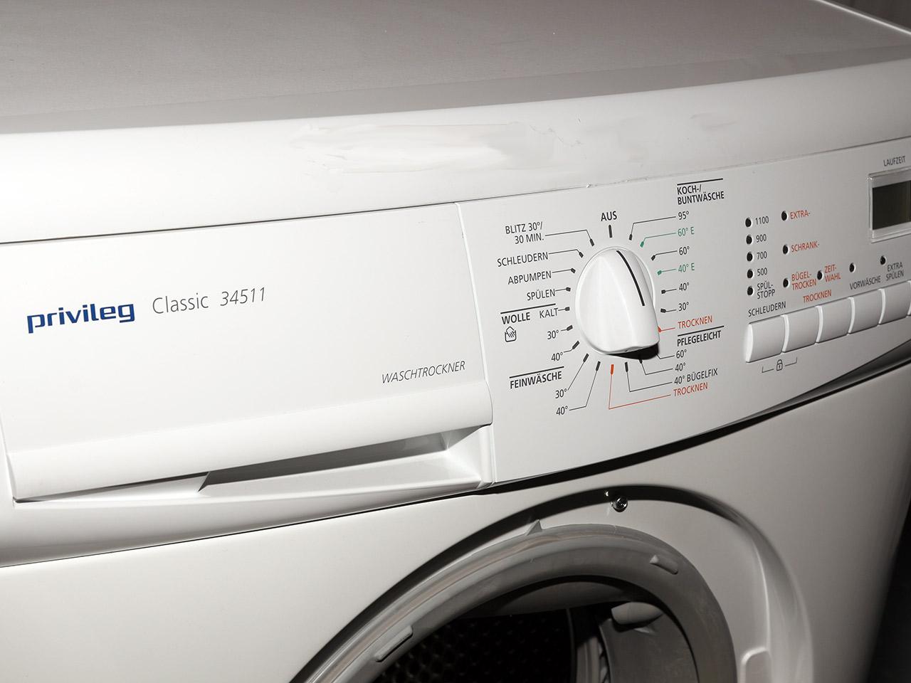Waschtrockner 1100500 Umin 53kg Waschmaschine und