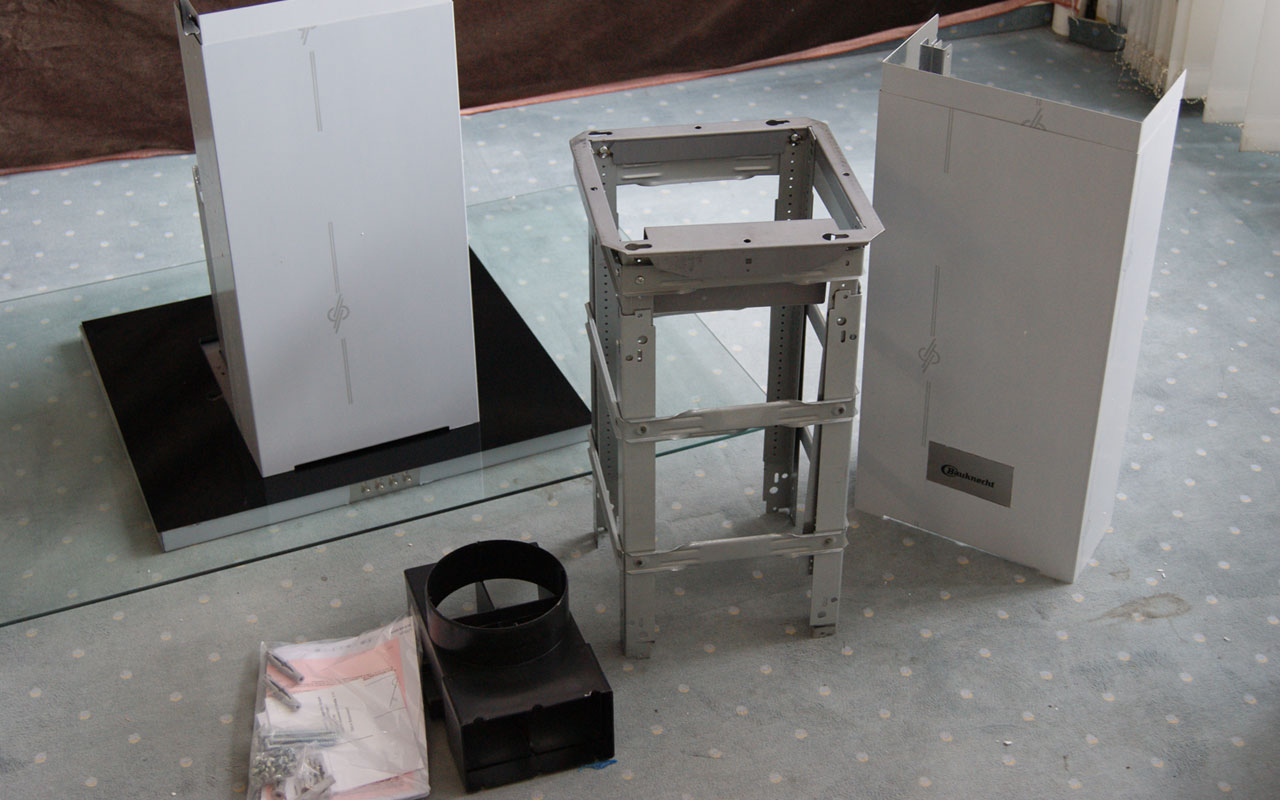100 cm bauknecht inselesse dunstabzug abzugshaube. Black Bedroom Furniture Sets. Home Design Ideas