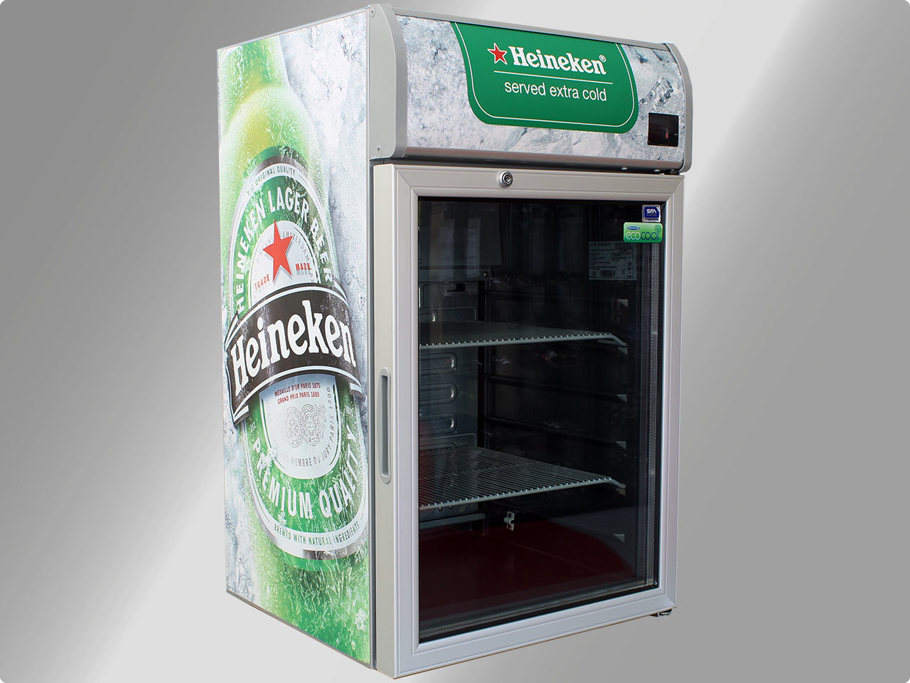 81,5 cm SFA Cool CMV100 Heineken Getränkekühlschrank ...