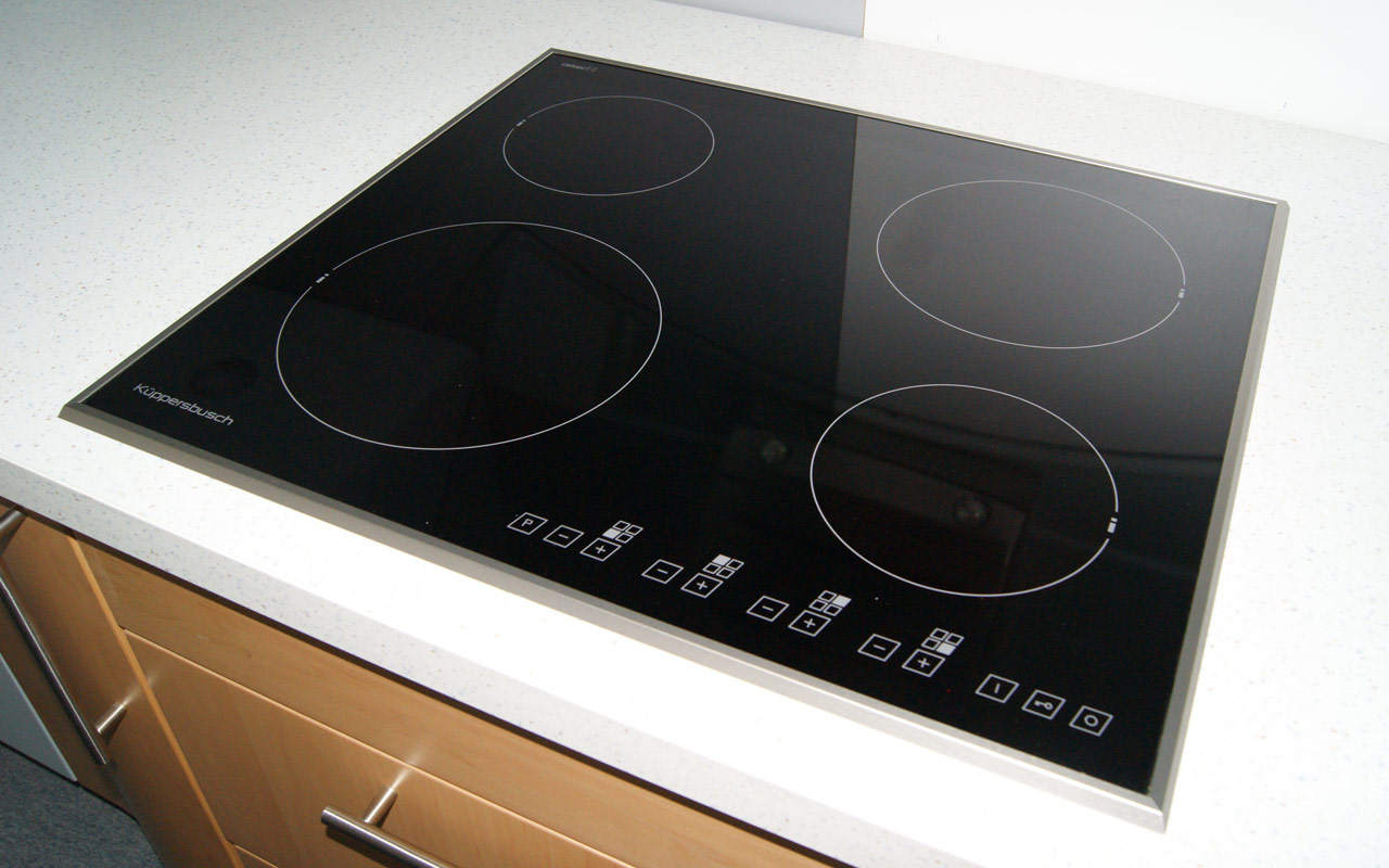 60 cm k ppersbusch induktions kochfeld autark induktiionsfeld induktionsplatte ebay. Black Bedroom Furniture Sets. Home Design Ideas