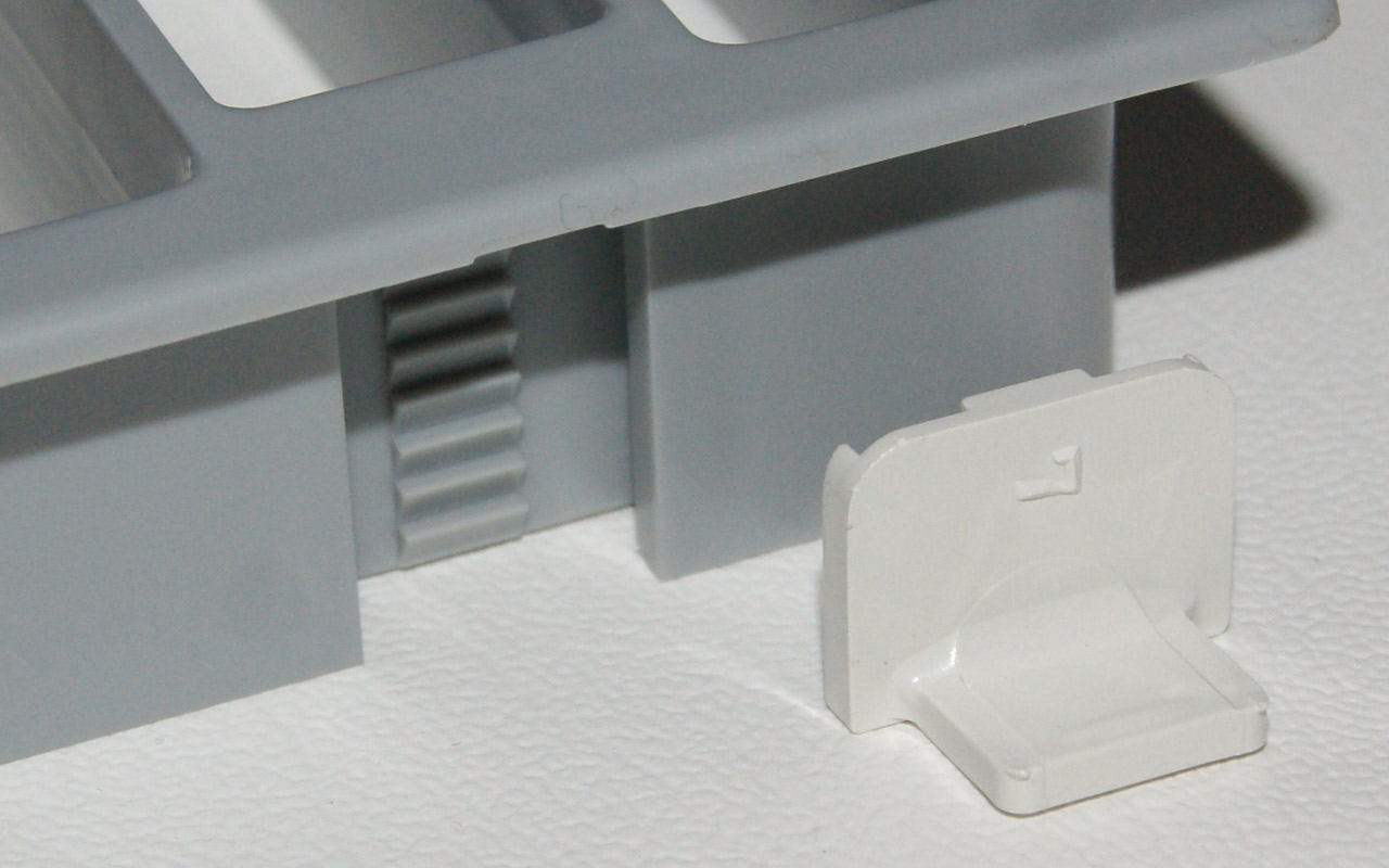 47,2 x 7,3 cm Küche Lüftungsgitter Küchensockel Geräte Belüftung ...