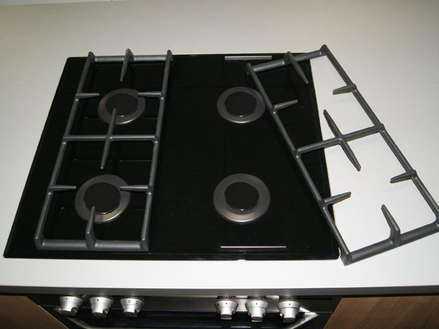 aeg einbau gas herdset elektroherd und gaskochfeld gaskochfeld gasmulde f r herd ebay. Black Bedroom Furniture Sets. Home Design Ideas