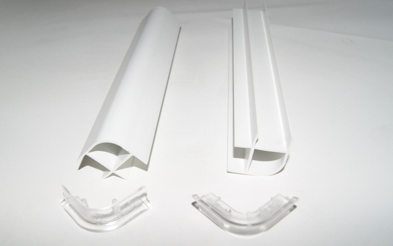 28 x 28 x 200 mm wellmann 2 stück sockelverbinder küchensockel eck ... - Sockelverbinder Küche