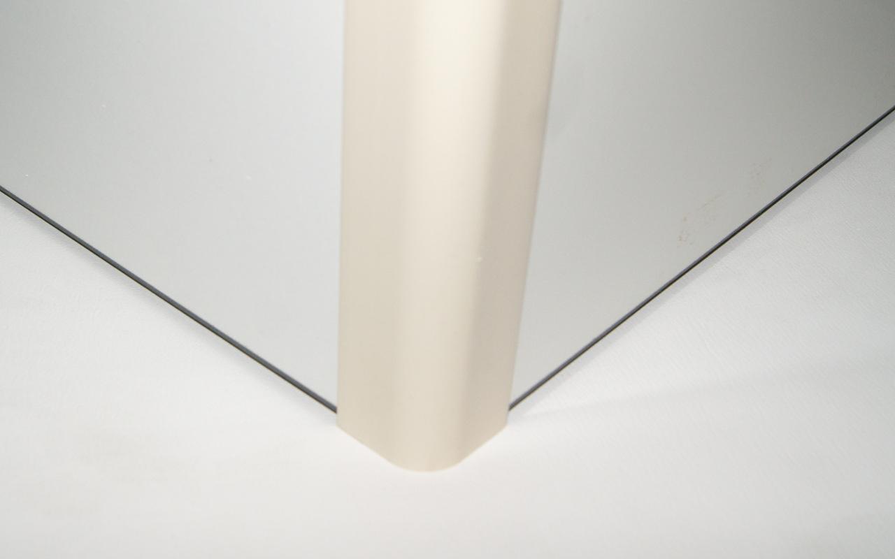 sockelverbinder außenecke sockel beige creme-set wellmann alno ... - Sockelverbinder Küche