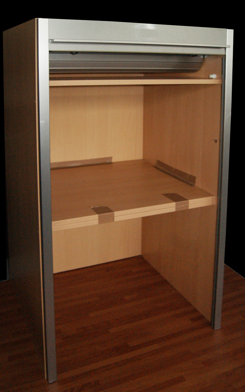 113 x 60 x 59 cm hxbxt alno aufsatzschrank orig 598 jalousie schrank ebay. Black Bedroom Furniture Sets. Home Design Ideas