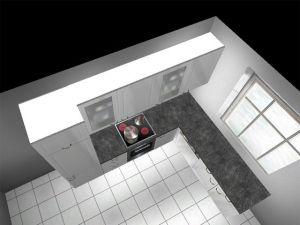l k che alno ag landhausk che weiss blau hand gewischt antik stil insolvenz ebay. Black Bedroom Furniture Sets. Home Design Ideas