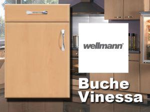 U- Küche Front Buche begehbarer Eckschrank Rondell Musterküche ... | {Wellmann küchen fronten 57}
