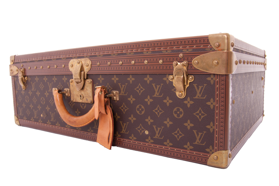 louis vuitton koffer case alzer 65 monogram canvas ebay. Black Bedroom Furniture Sets. Home Design Ideas
