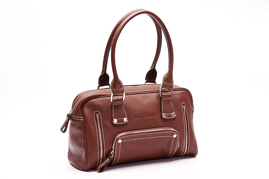longchamp handtasche tasche bag braun leder wie neu ebay. Black Bedroom Furniture Sets. Home Design Ideas