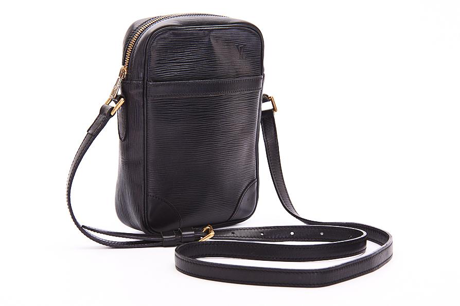 louis vuitton handtasche tasche bag danube epi leder ebay. Black Bedroom Furniture Sets. Home Design Ideas