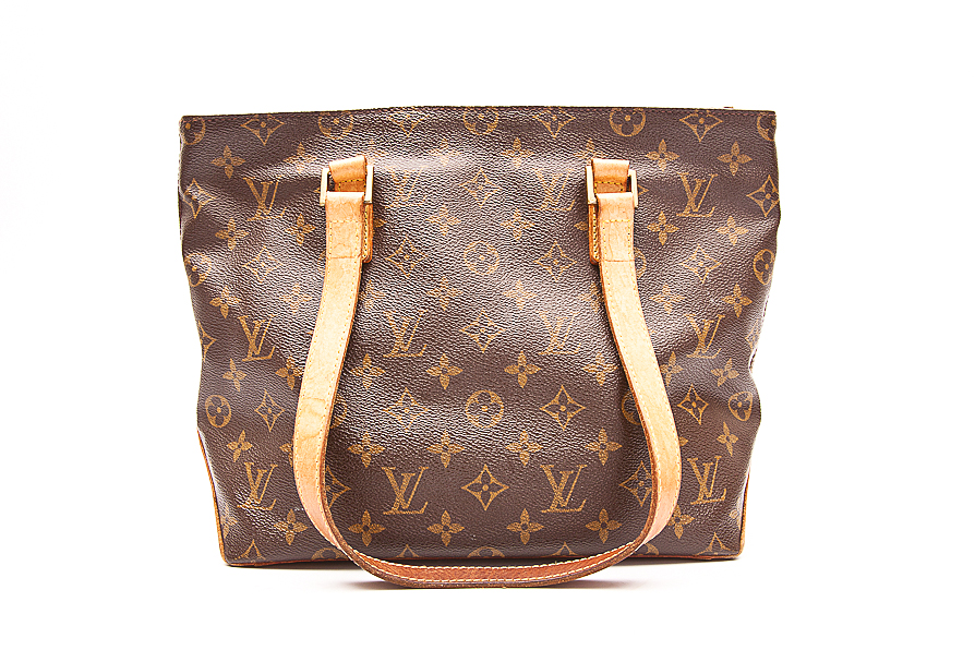 louis vuitton handtasche tasche bag cabas piano monogram canvas ebay. Black Bedroom Furniture Sets. Home Design Ideas