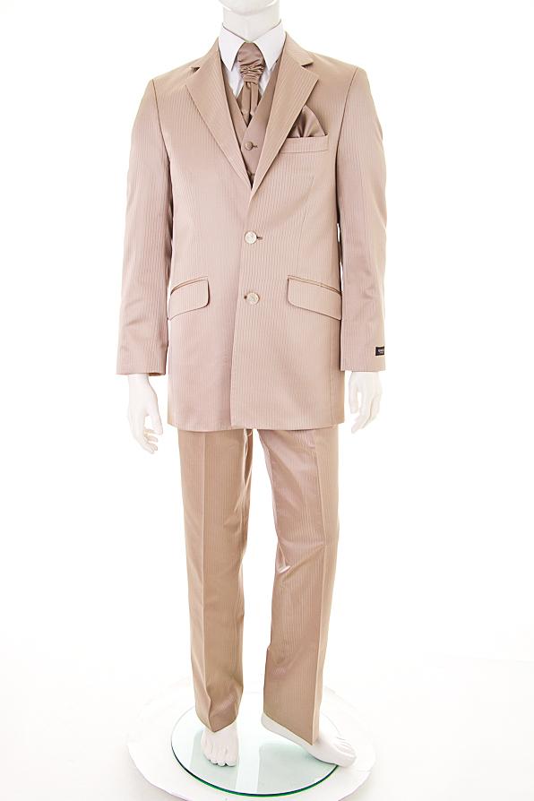 gala licona anzug mit weste krawatte goldfarben mit seide neu ebay. Black Bedroom Furniture Sets. Home Design Ideas