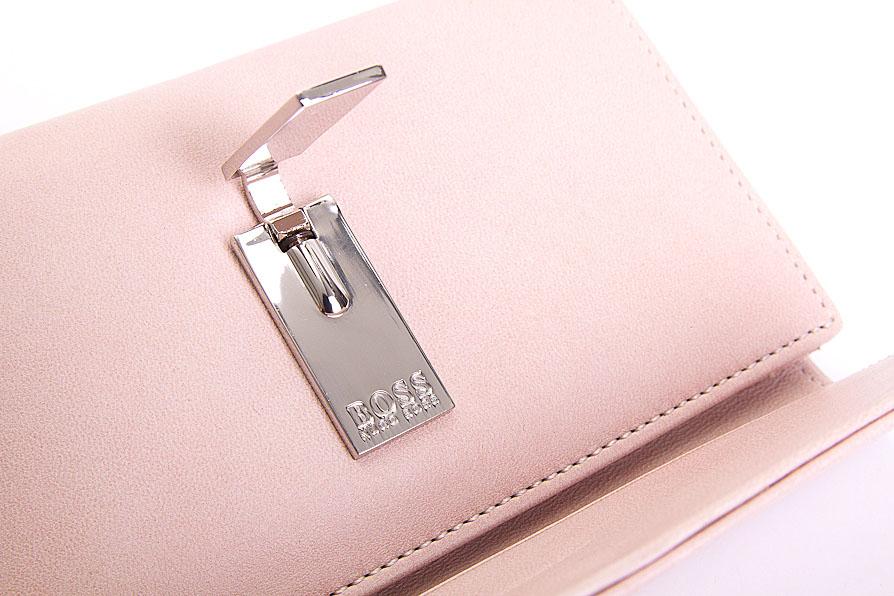hugo boss portemonnaie rosa aus echtleder neu. Black Bedroom Furniture Sets. Home Design Ideas