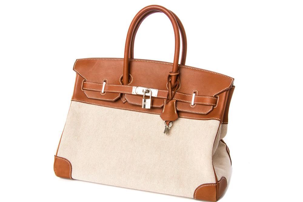 replica hermes birkin 40 - HERM��S PARIS Handtasche Birkin Bag 35 braun - mit Echtleder- Wie ...
