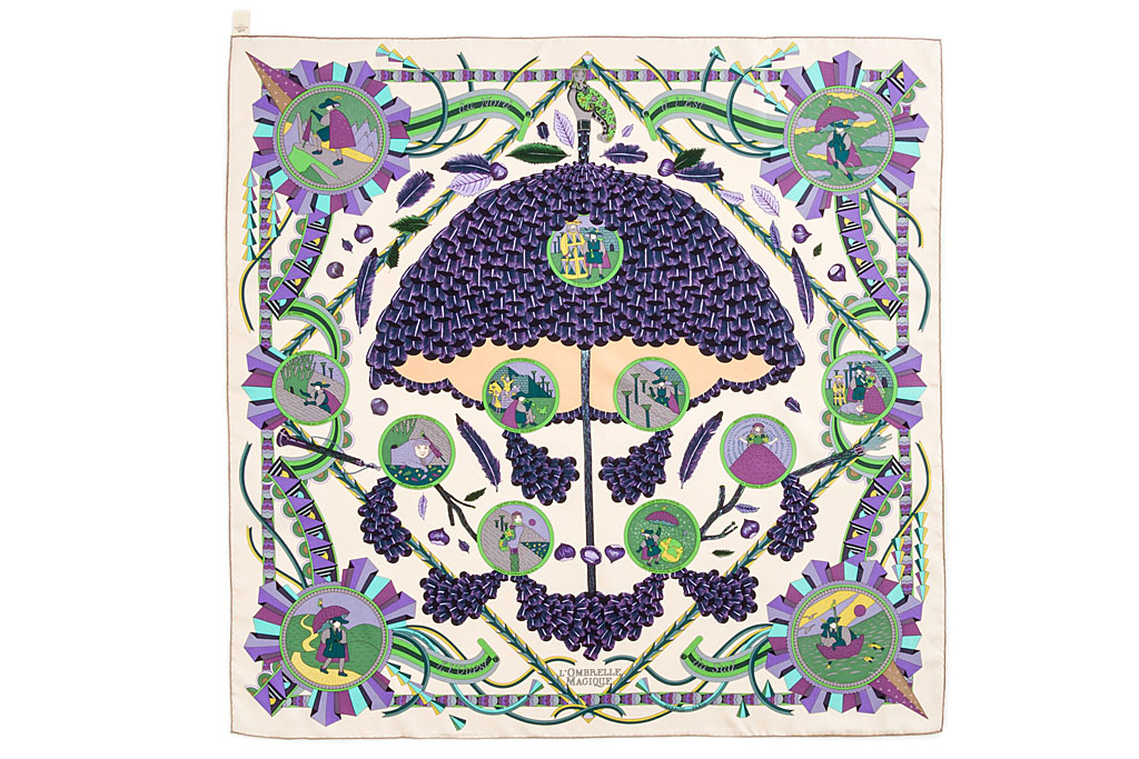 Herm s paris carr tuch multicolor l 39 ombrelle magique - Hermes tuch binden ...