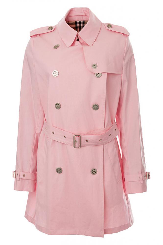 Burberry Väska Rosa : Burberry trenchcoat rosa gr xl