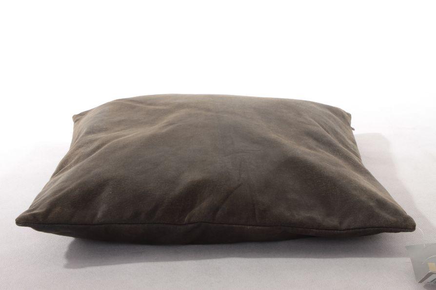 st emile kissenbezug 50x50 braun echtleder neu ebay. Black Bedroom Furniture Sets. Home Design Ideas