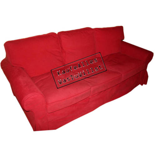 ikea ektorp sofa bezug leaby rot viele modelle. Black Bedroom Furniture Sets. Home Design Ideas