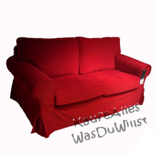 ikea ektorp sofa bezug leaby rot viele modelle ebay. Black Bedroom Furniture Sets. Home Design Ideas