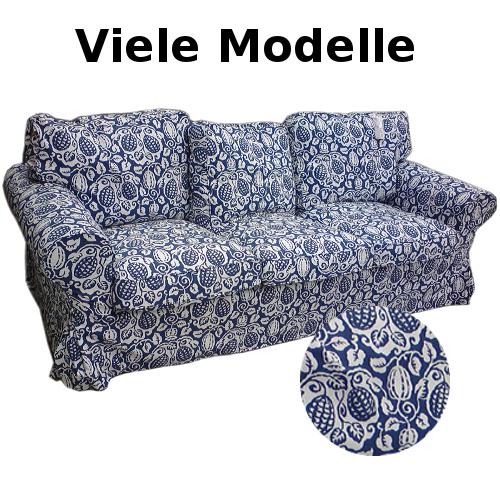 IKEA EKTORP Sofa Bezug KLINTBO Blau Viele Modelle