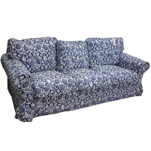 ikea ektorp sofa bezug klintbo blau viele modelle ebay. Black Bedroom Furniture Sets. Home Design Ideas