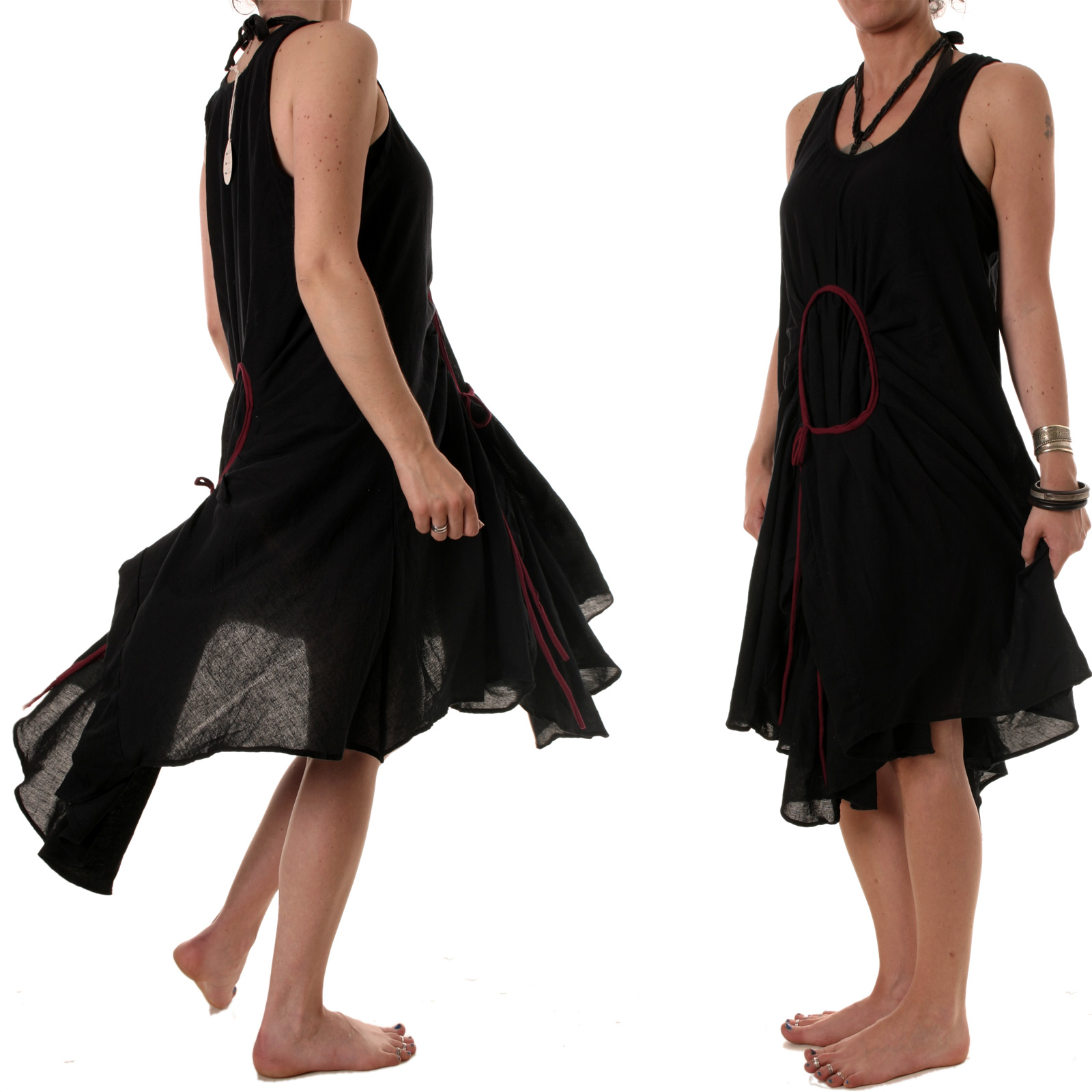 lagenlook kleid hippie ethno sommerkleid tunika strandkleid goa zipfelkleid xxl ebay. Black Bedroom Furniture Sets. Home Design Ideas