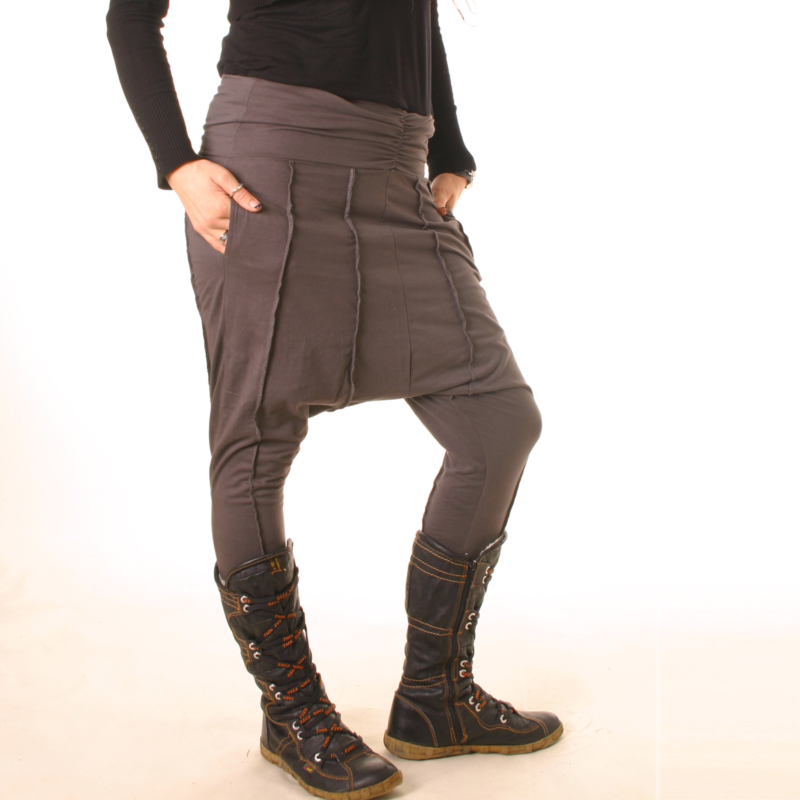 vishes haremshose chino patchwork hose trouser stiefel hose yoga sarouelhose ebay. Black Bedroom Furniture Sets. Home Design Ideas