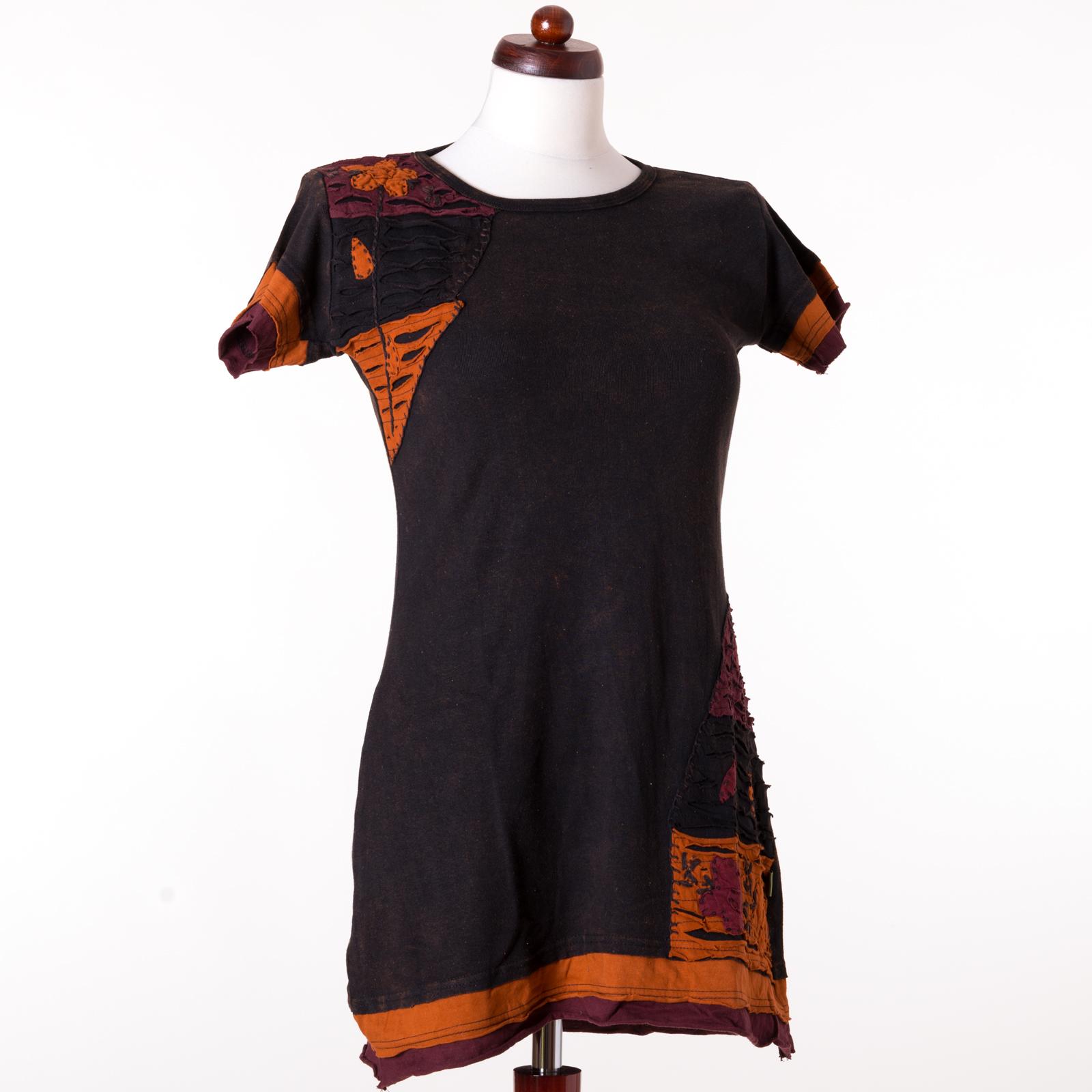 vishes hippie goa tunika super mini kleid boho chic. Black Bedroom Furniture Sets. Home Design Ideas