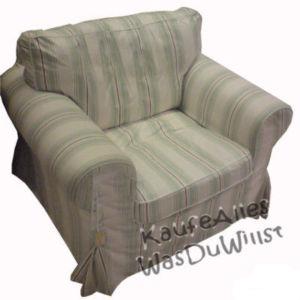 ikea ektorp sofa bezug sigsta bunt sessel 3er ebay. Black Bedroom Furniture Sets. Home Design Ideas
