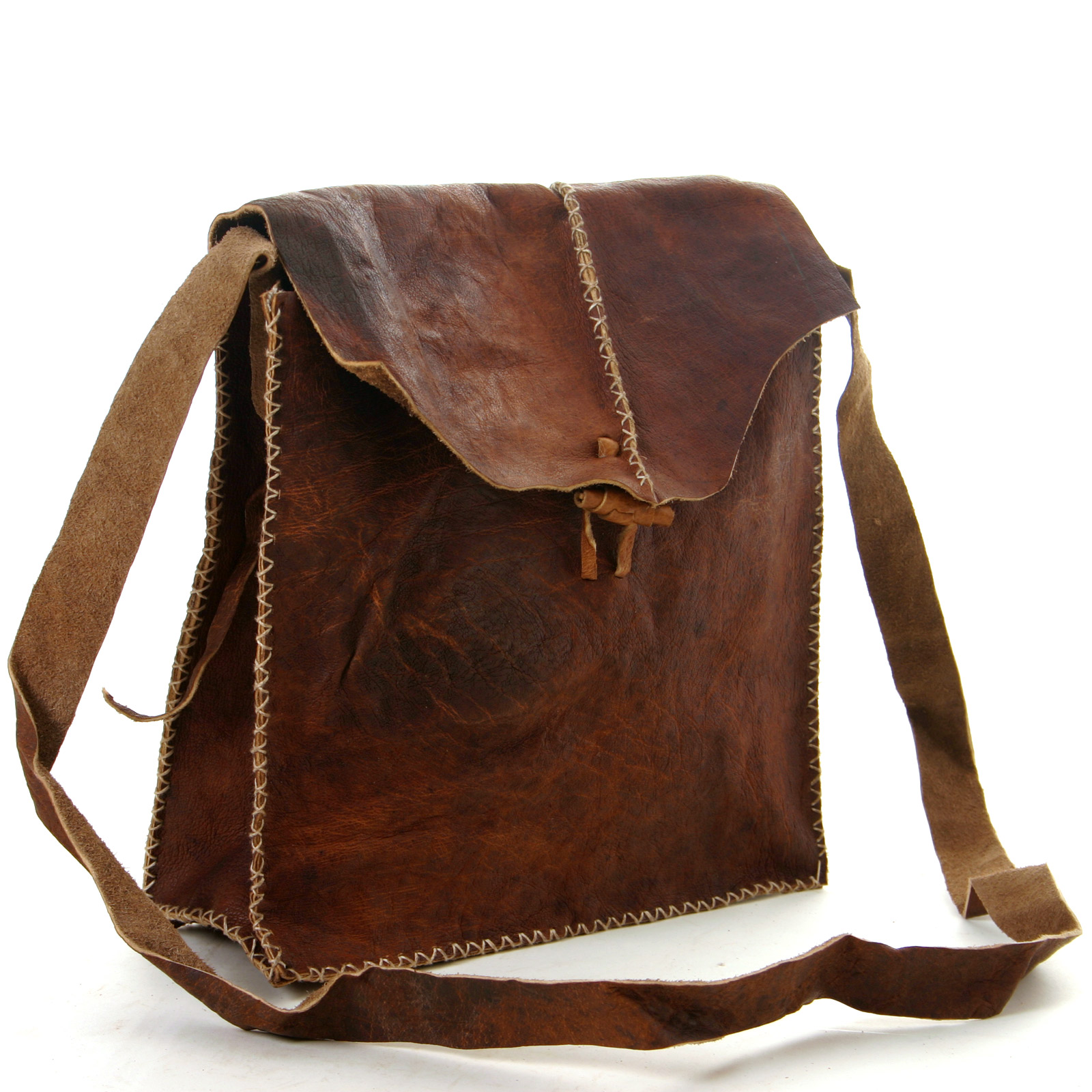 vishes leder tasche umh ngetasche mittelalter messenger leather bag herren ebay. Black Bedroom Furniture Sets. Home Design Ideas