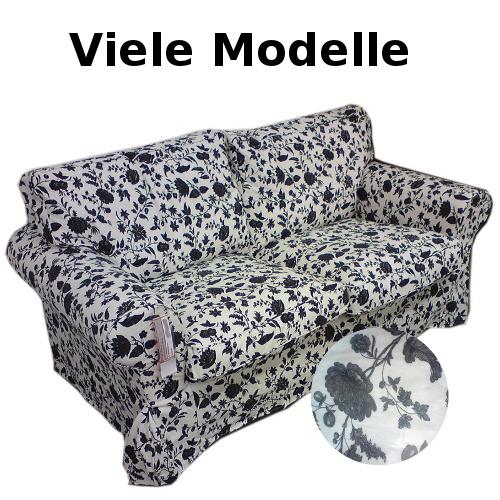 Ikea Ektorp Sofa Bezug Hovby Wei Schwarz Viele Modelle Ebay