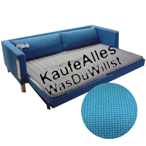 ikea karlstad sofa bezug korndal blau viele modelle ebay. Black Bedroom Furniture Sets. Home Design Ideas