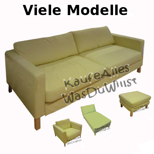 ikea karlstad sofa bezug sivik gelb viele modelle ebay. Black Bedroom Furniture Sets. Home Design Ideas