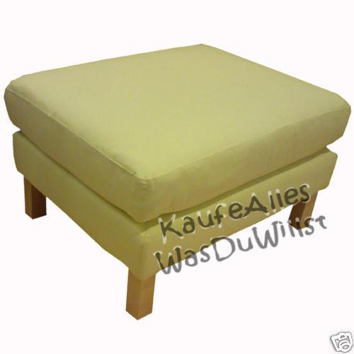 ikea karlstad sofa bezug sivik gelb viele modelle ebay. Black Bedroom Furniture Sets. Home Design Ideas