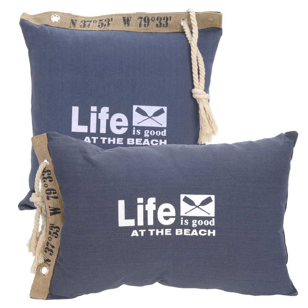 kissen gef llt maritim couch sofakissen stuhl deko zier. Black Bedroom Furniture Sets. Home Design Ideas