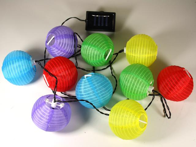 del solaire lampion guirlande lumineuse lampe de jardin ebay. Black Bedroom Furniture Sets. Home Design Ideas