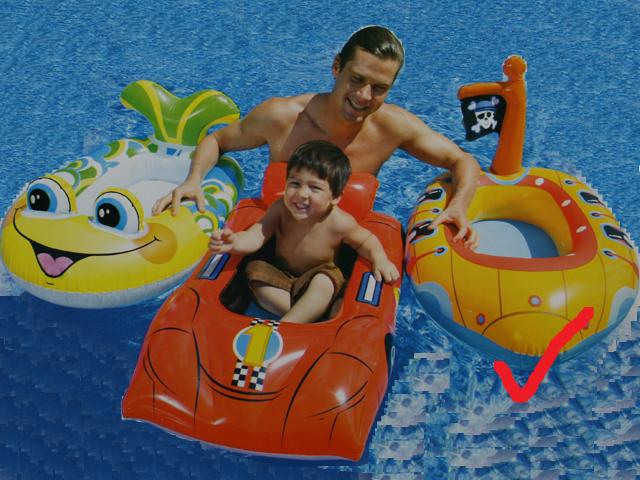 schwimmboot pool boot f r kinder gummiboot schlauchboot ebay. Black Bedroom Furniture Sets. Home Design Ideas