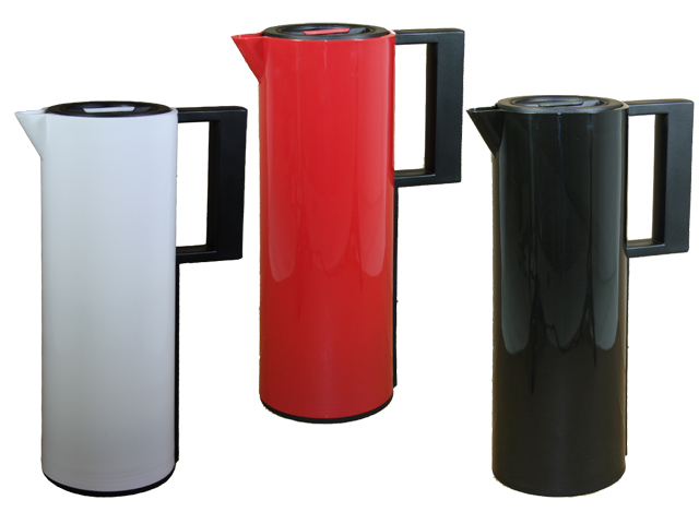 design thermoskanne 1 liter isolierkanne thermosflasche thermos kaffee kanne ebay. Black Bedroom Furniture Sets. Home Design Ideas