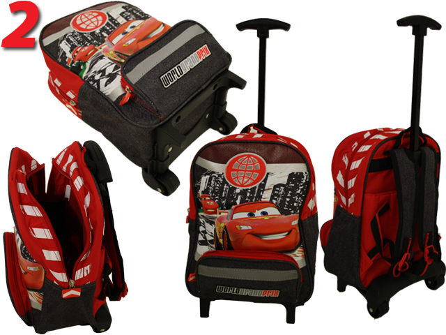 disney cars koffer trolley rucksack reisetasche f kinder. Black Bedroom Furniture Sets. Home Design Ideas