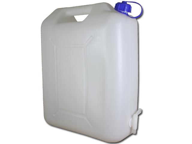Fabulous Wasserkanister 20 Liter mit Hahn Camping Wasser Kanister 20L  WT01
