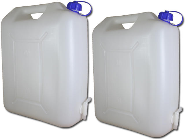 Großartig Wasserkanister 20 Liter mit Hahn Camping Wasser Kanister 20L  LH88