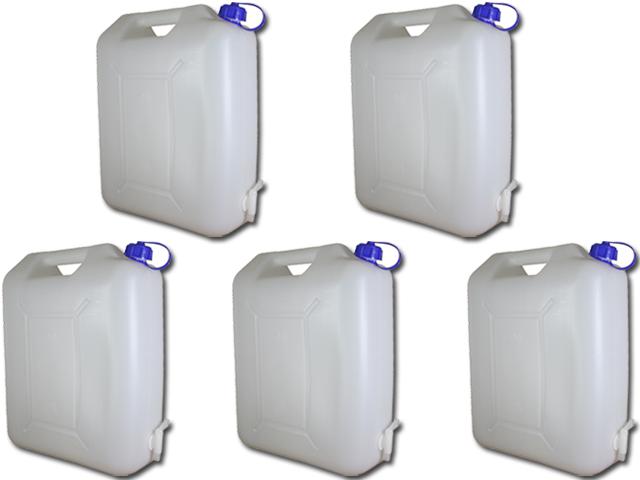wasserkanister 20 liter mit hahn camping wasser kanister. Black Bedroom Furniture Sets. Home Design Ideas