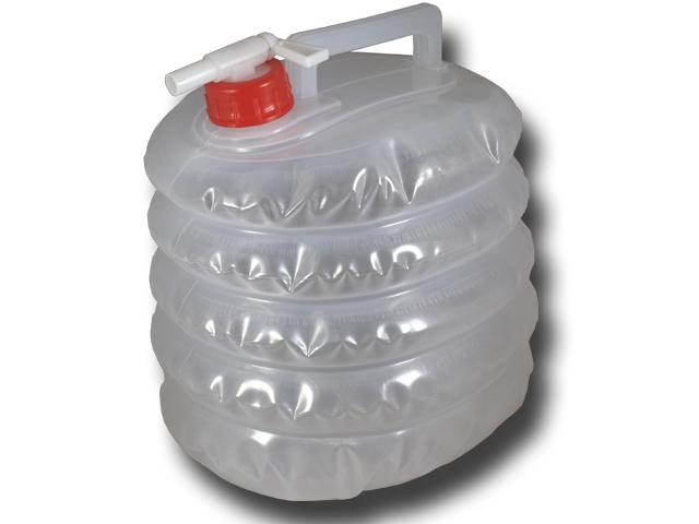 wasserkanister 5 liter faltbar mit hahn faltkanister 5l camping wasser kanister ebay. Black Bedroom Furniture Sets. Home Design Ideas