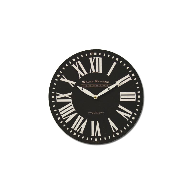 Deco Chambre Style Asiatique : Horloge murale XXL 60 cm & 29 cm design rétro horloge