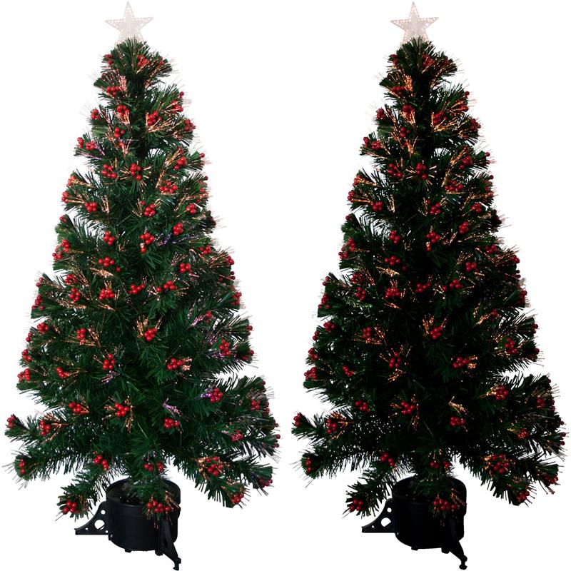 k nstlicher weihnachtsbaum 120cm led tannenbaum christbaum beleuchtet baum gr n ebay. Black Bedroom Furniture Sets. Home Design Ideas