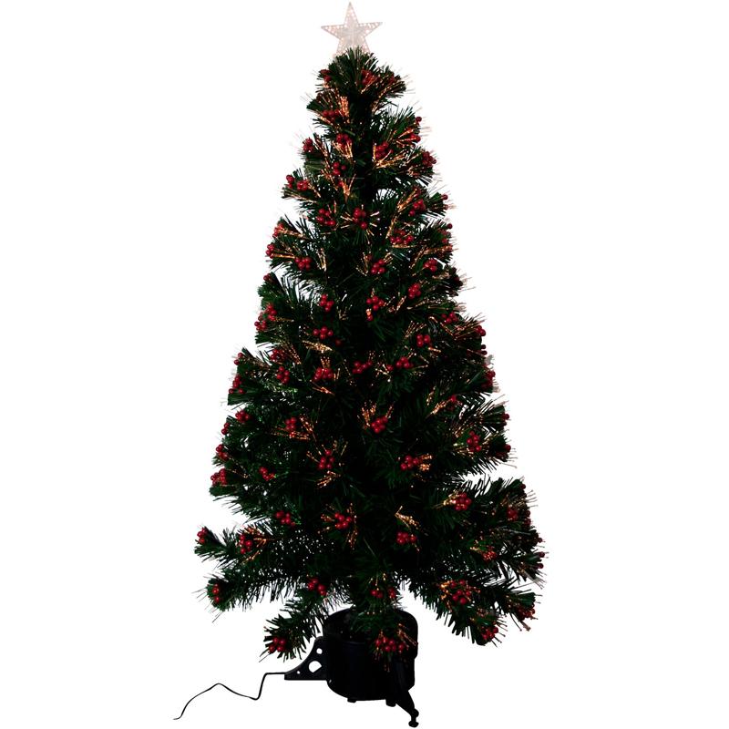 K nstlicher weihnachtsbaum 120cm led tannenbaum christbaum - Beleuchteter tannenbaum kunststoff ...