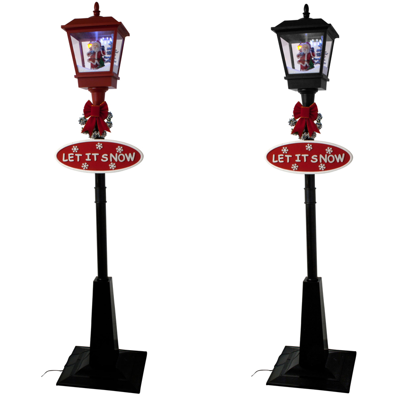 schneiende christmas lantern led christmas lights lighting tree snow ebay. Black Bedroom Furniture Sets. Home Design Ideas